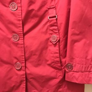 Faded Glory Jackets & Coats - Berry colored Spring/Rain Coat. Size Large